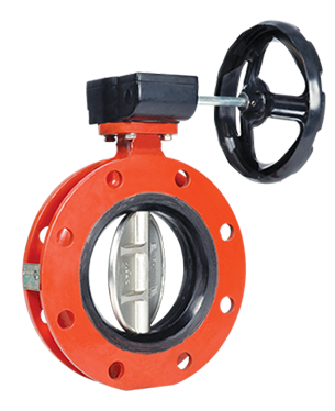 Resiliant Seated Butterfly Valve